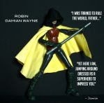 Damian Wayne - Robin custom figure by SomethingGerman