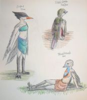 Bird People 2 by unigirl-cloudghost