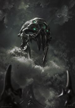 The Mask of Curses by Bogdan-MRK