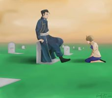 [REQUEST] Maes and Gracia Hughes (FMA) by Noba-kun