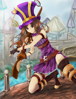 ::League of Legends:: Caitlyn, Sheriff of Piltover by artsy-akalei