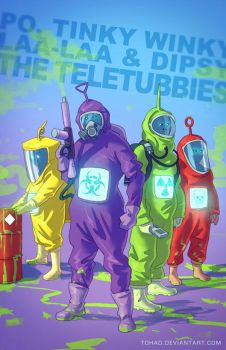 The Teletubbies BADASS by Tohad