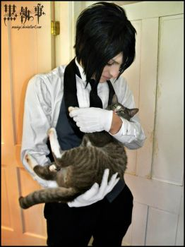 Sebastian Michaelis: Cats are So Sublime by Maxieyi