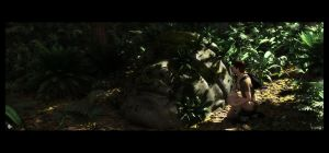 Lara and the Olmecs by barrymdesigns