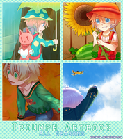 Triumph Artbook Preview: Hello and Goodbye by arcanium