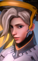 Mercy | Overwatch by TakeOFFFLy