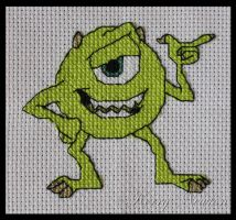 Mike, Monsters Inc by KezzaLN