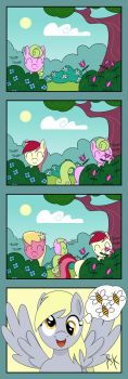 Spring is in the Air (Flower Sisters) by Pony4Koma
