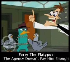 Perry The Platypus by digigirl02