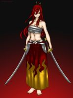 Erza Scarlet by Lonewolf2592