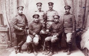 Bulgarian officers by Shosan