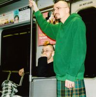 Riding the Metro by Split-Open-Mind