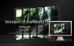 Wonders of the World - Waterfall no.02 by NoRushDesigns