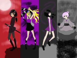 The Four Evils by Se34r5
