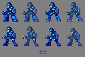 MMZ Original Mega Man X Versions. by MegaManGamer123