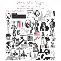 Vectors: These United States by HGGraphicDesigns