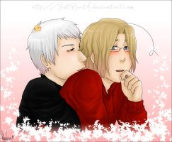 APH-You smell like maple syrup by Feffelini