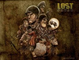 Lost Squad Wallpaper 02 by alanrobinson