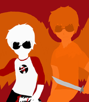 Dave and Davesprite by SuspendedInSpace