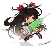 I will stab you with this needle by Skyler-chan498