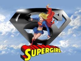 Supergirl wallpaper by SWFan1977