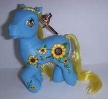 MLP Custom 'Sunflower Summer' by colorscapesart