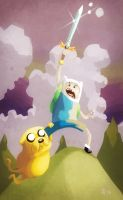 Adventure time by NeilTavaresArt