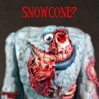 Zombie Abominable SNOWCONE by Undead-Art