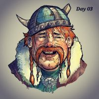 Movember day 03 by Gaugex
