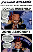Frank Miller's Political Satire of Republicans by StevenEly