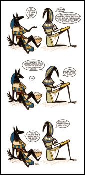 Stick-gods :: How Will it End? by Inonibird