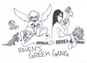 Ravens Greek Gang