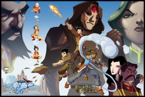The Legend of Korra by AdamMasterman