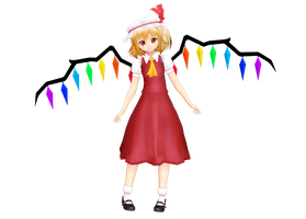Flandre Scarlet by MoonyWitcher