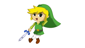 Toon LINK! by Eveningstar2000