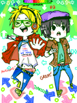 DDR Buddies by Chimneey