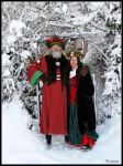 Father and Mother Christmas by cycoze