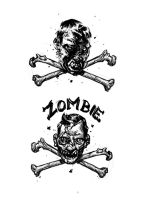 Zombie crossbones by bolognafingers