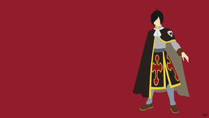 Rogue Cheney (Fairy Tail) Minimalist Wallpaper by greenmapple17