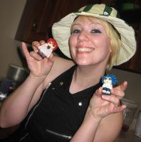 Holding my creations by PMconfection