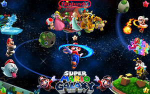 Mario's Galaxy of Fun by I-2