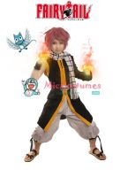 Fairy Tail Natsu Dragneel Cosplay Costume by miccostumes