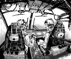 The-cockpit by chengxiangarts