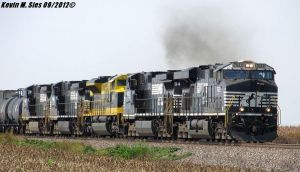 NS 111 with the Virginian Heritage 1069 New Baden by EternalFlame1891