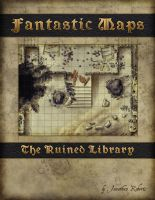 Ruined Library Cover by torstan