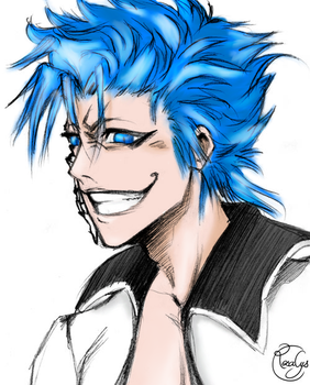 Grimmjow Jaggerjaques coloring by RowanSL