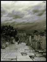 Ephesos Main Street 2 by orcunceyhan