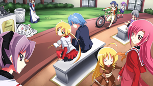 Hayate No Gotoku by mysticswordsman21