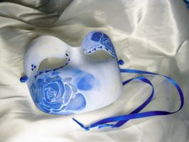 Blue Rose Mask 2 by Creatorsoul