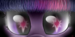 Twilight's eyes are epic! by RainbowJune